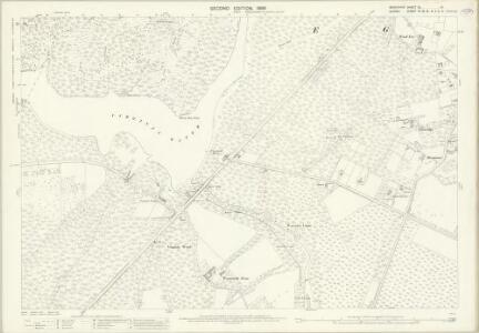 Berkshire XL.14 (includes: Egham; Old Windsor) - 25 Inch Map