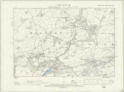 Devonshire CXXIV.SW - OS Six-Inch Map
