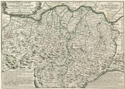 L'Etat du Duc de Parme Contenant Les Duches de Parme et Plaisance et les États Palavicin et de Landi &c.