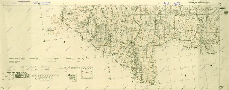 III. vojenské mapování 4451/1