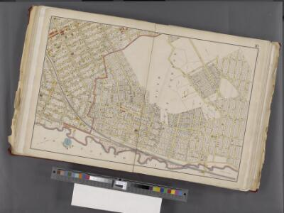 Westchester, Double Page Plate No. 10 [Map bounded by 15th Ave., City of Yonkers, Mount Vernon Ave.] / prepared under the direction of Joseph R. Bien, from general surveys and official records.