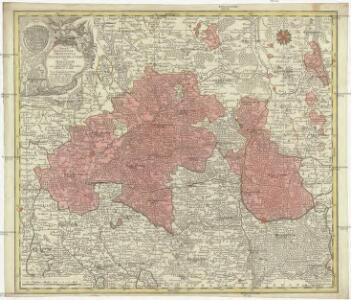 Tabulae geographicae principatus Brandenburg. Culmb. sive Baruthini