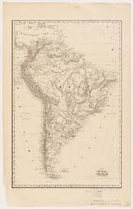 Rand, McNally & Co.'s new 14 x 21 map of South America