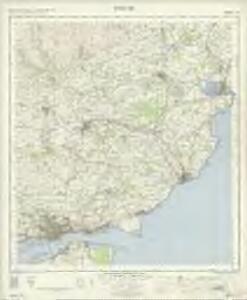 Forfar - OS One-Inch Map
