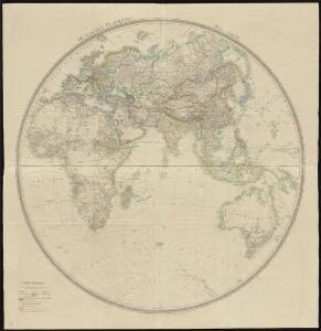 Oestlicher Planiglob der Erde