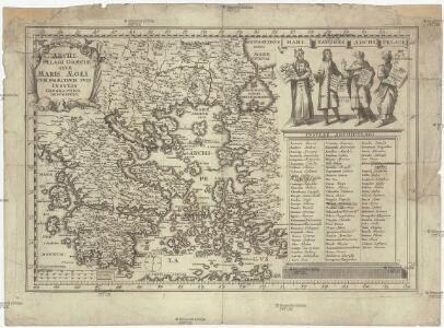 Archipelagi Graeciae sive maris AEgei cvm praecipvis svis insvlis geographica descriptio