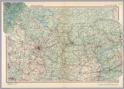 U.S.S.R. in Europe - Central.  Pergamon World Atlas.