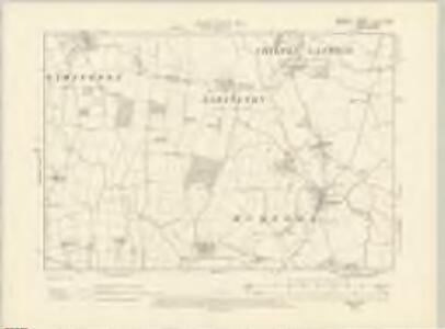 Dorset V.NW - OS Six-Inch Map