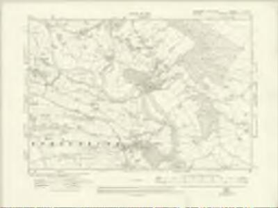 Yorkshire V.NW - OS Six-Inch Map