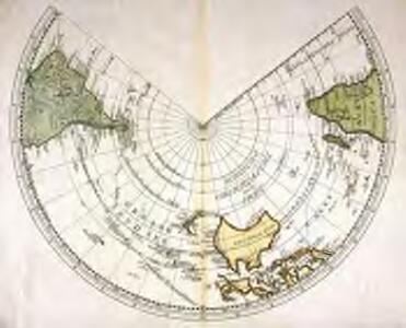 Südliche Oberflaeche der Erde