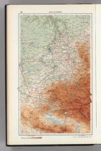 33.  Altai and Kuzbass.  The World Atlas.