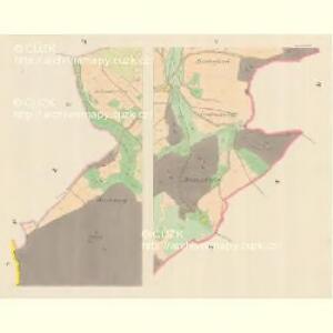 Domstadt (Domassow) - m0557-1-005 - Kaiserpflichtexemplar der Landkarten des stabilen Katasters