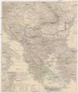 [Karte der Balkan-Halbinsel]