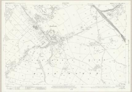 Yorkshire CCXCV.10 (includes: Orgreave; Sheffield) - 25 Inch Map