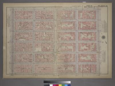 Plate 13, Part of Section 3: [Bounded by E. 32nd Street, Third Avenue, E. 26th Street, and Fifth Avenue.]