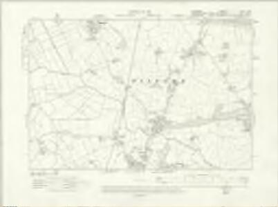Cheshire XLVI.SW - OS Six-Inch Map