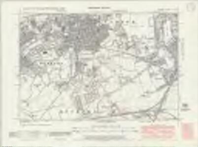 Durham III.SE - OS Six-Inch Map