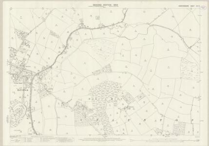 Herefordshire XXV.13 (includes: Bredwardine; Letton; Staunton On Wye) - 25 Inch Map
