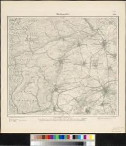 Meßtischblatt 3596 : Buchsweiler, 1885