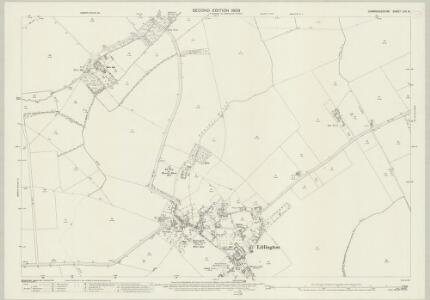 Cambridgeshire LVII.8 (includes: Abington Pigotts; Bassingbourn; Litlington; Steeple Morden) - 25 Inch Map