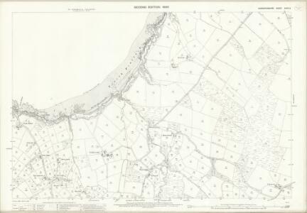 Caernarvonshire XXXIX.9 (includes: Botwnnog; Tudweiliog) - 25 Inch Map
