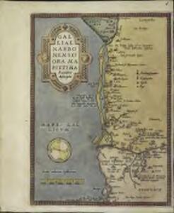Galliae Narbonensis ora maritima recenter descripta