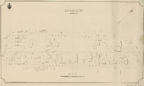 Balmain, Sheet 15, 1888
