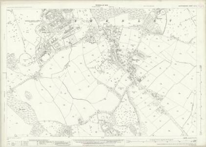 Hertfordshire XL.9 (includes: Aldenham; Ridge; Shenley) - 25 Inch Map