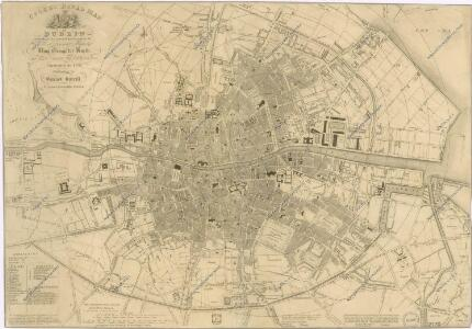 Cooke ́s royal map of Dublin