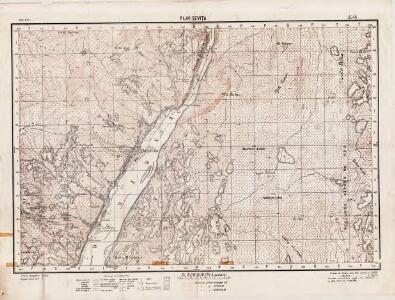 Lambert-Cholesky sheet 2245 (Plavişeviţa)