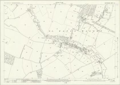 Hertfordshire XX.5 (includes: St Pauls Walden) - 25 Inch Map