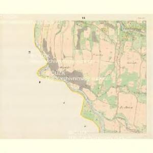 Tichau (Ticha) - m3107-1-005 - Kaiserpflichtexemplar der Landkarten des stabilen Katasters