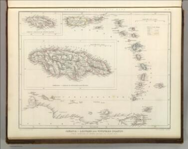 Jamaica - Leeward and Windward Islands.