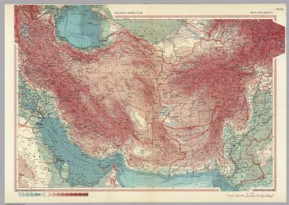 Iran, Afghanistan.  Pergamon World Atlas.