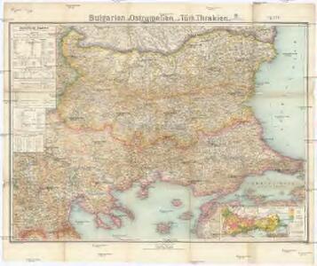 Bulgarien mit Ostrumelien und Türk. Thrakien