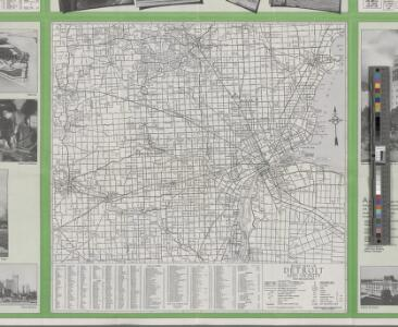 Official transportation map Michigan.
