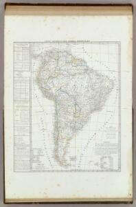Carta generale dell'America Meridionale.