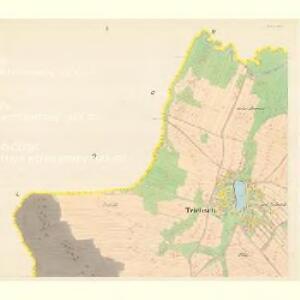 Triebsch - c8013-1-001 - Kaiserpflichtexemplar der Landkarten des stabilen Katasters