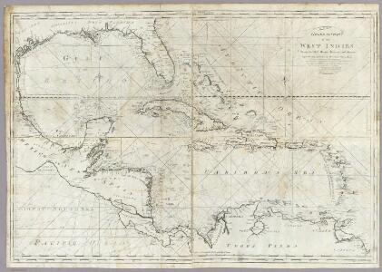 A new general chart of the West Indies.