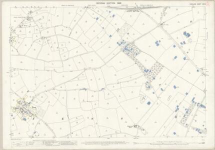 Cheshire XXX.3 (includes: Burton; Ness; Neston cum Parkgate; Willaston) - 25 Inch Map
