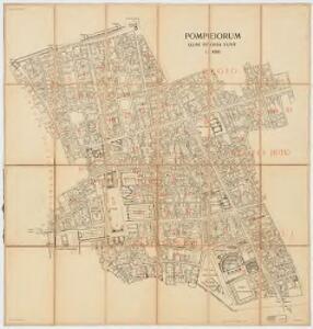 Pompeiorum quae efossa sunt : 1:1000