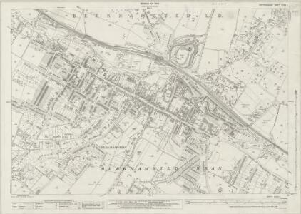 Hertfordshire XXXIII.5 (includes: Berkhampstead Urban; Northchurch) - 25 Inch Map