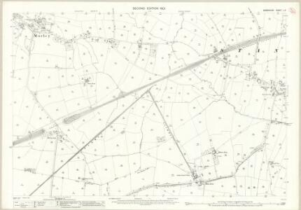 Derbyshire L.3 (includes: Chaddesden; Morley; Spondon; Stanley) - 25 Inch Map