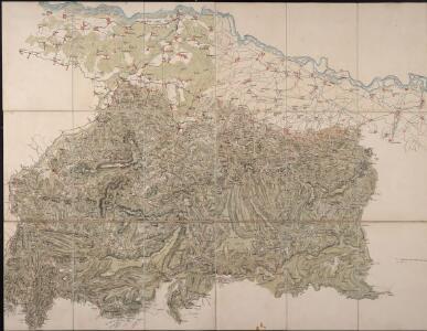 [Carte eines Theils des Schwartzwaldes]