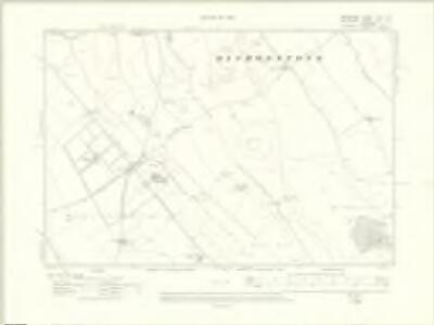 Berkshire XVIII.SE - OS Six-Inch Map