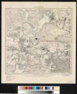 Meßtischblatt 1836 : Charlottenburg, 1920
