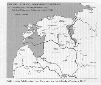 Estland, Lettland und Nordwestrußland