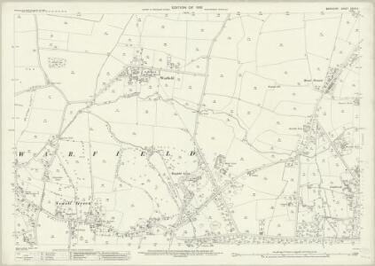 Berkshire XXXIX.6 (includes: Warfield; Winkfield) - 25 Inch Map