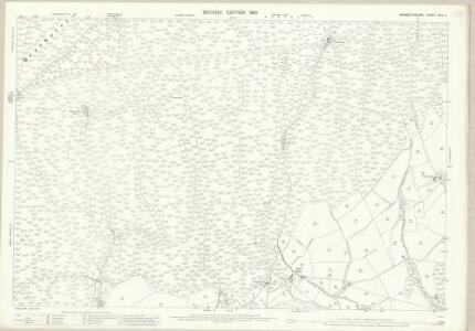 Monmouthshire XXIX.4 (includes: Cemais; Llanfaches; Llantrisaint Fawr; Pen Hw; Shirenewton) - 25 Inch Map