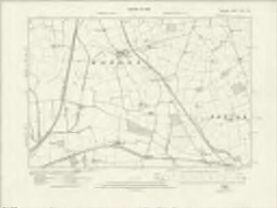 Durham XLIII.SE - OS Six-Inch Map